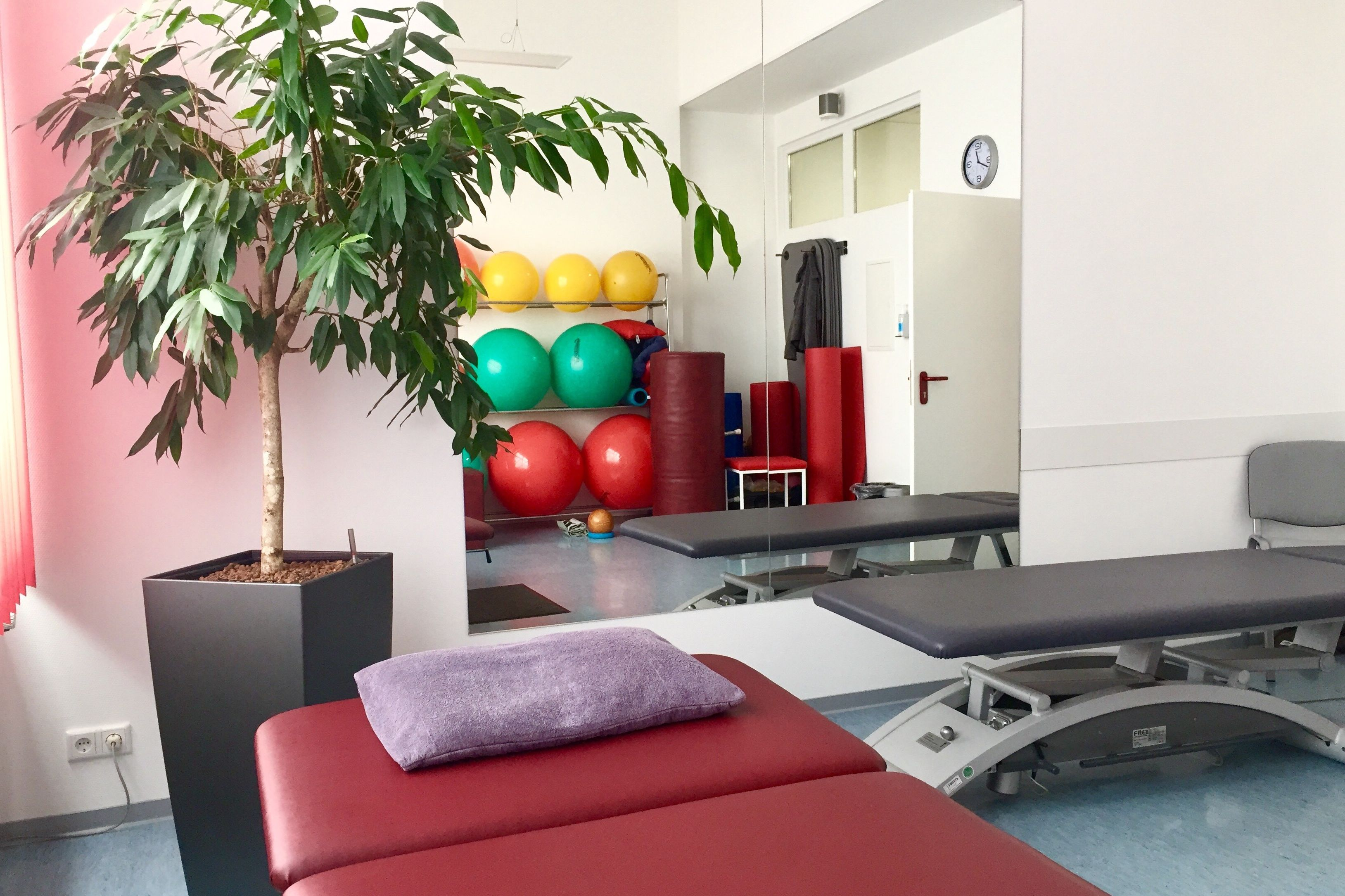 Physiotherapie am Samstag